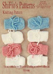 Free Baby Mittens KnittingPattern