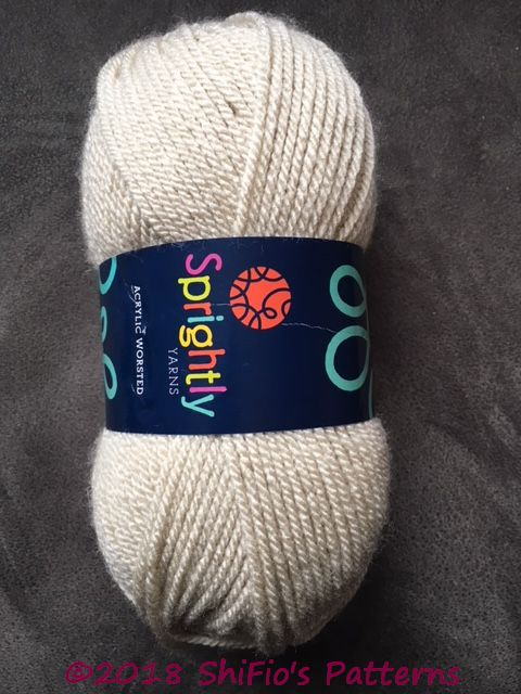Yarn Review- Sprightly Yarn Acrylic Worsted